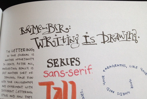 Remember Writing is Drawing - Danny Gregory