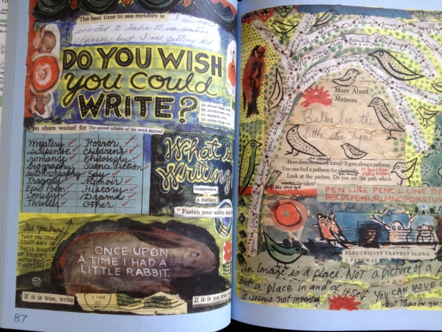 Do You Wish You Could Write? Lynda Barry