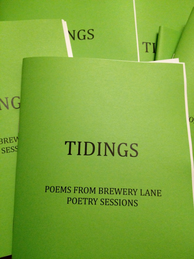 'Tidings' - 2013 Poetry Pamphlet