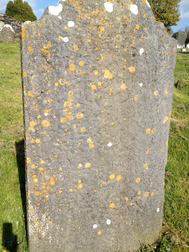 Old headstone