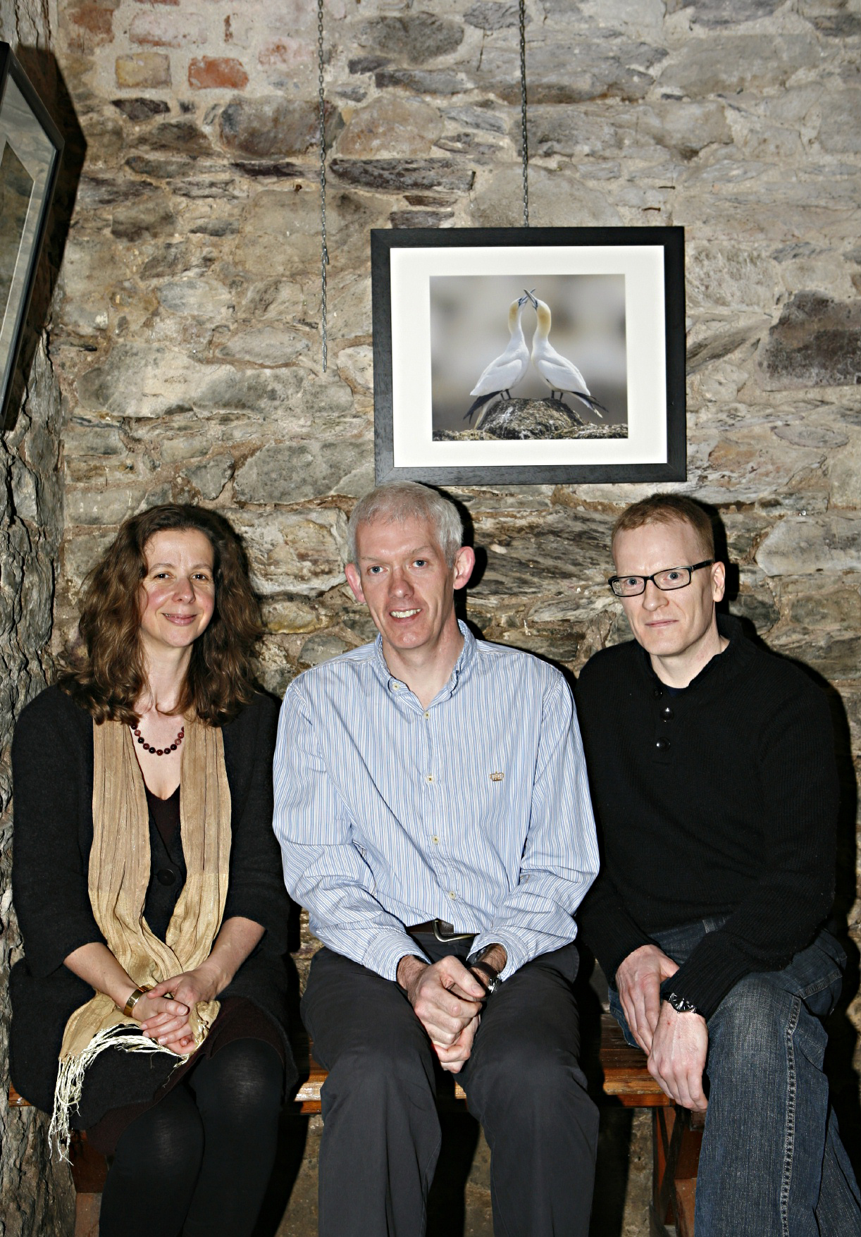 Grace Wells, Richard Hayes, David Ryan