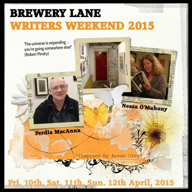 Poster 2015 Brewery Lane Writers' W_E